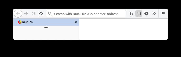 Hiding Firefox tab bar